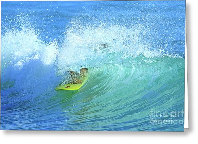Ponce Surf Greeting Card