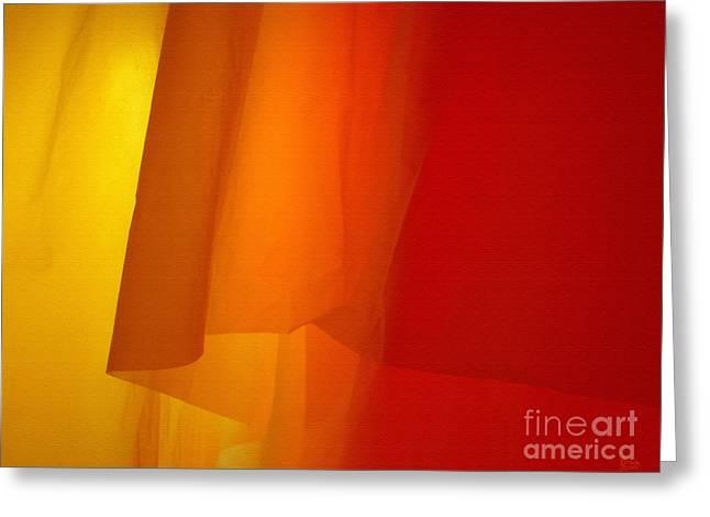 Poncho Abstract 5 Greeting Card