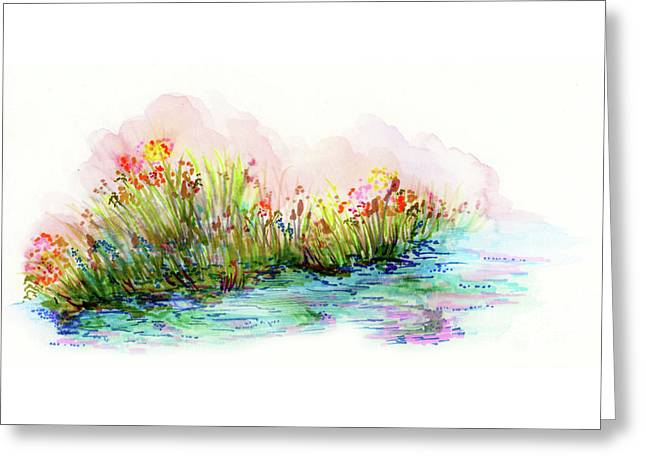 Sunrise Pond Greeting Card