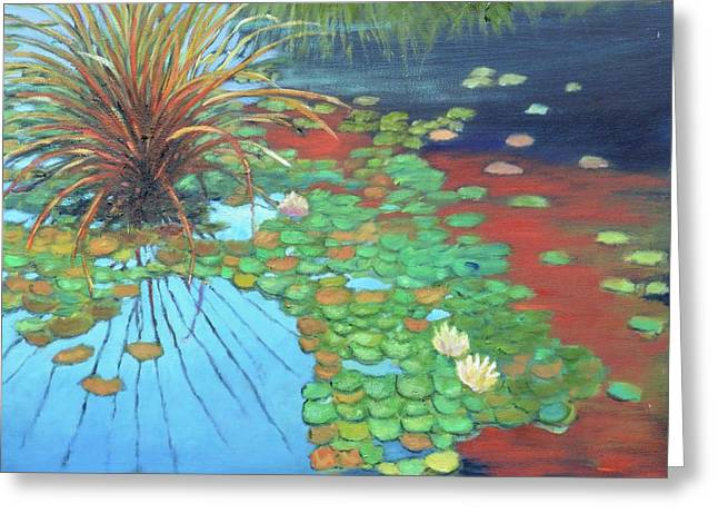 Pond Greeting Card by Gary Coleman
