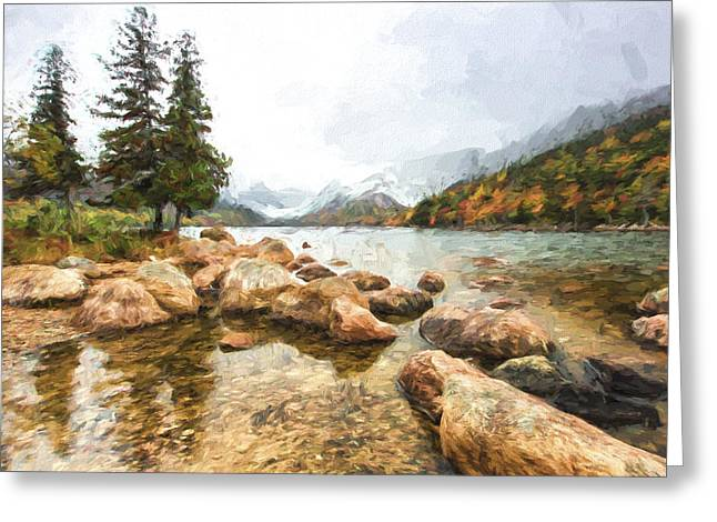 Pond In The Mountains II Greeting Card by Jon Glaser