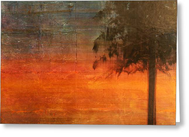 Ponderosa Pine Greeting Card by Patt Nicol