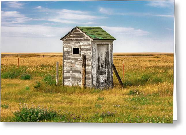 Pendroy Outhouse Greeting Card
