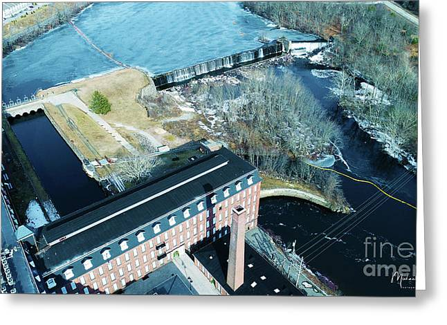 Ponemah Mill And Dam Greeting Card