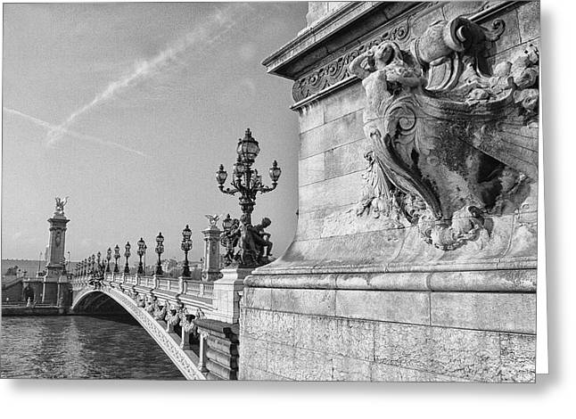 Pont Alexandre Greeting Card by Diana Haronis