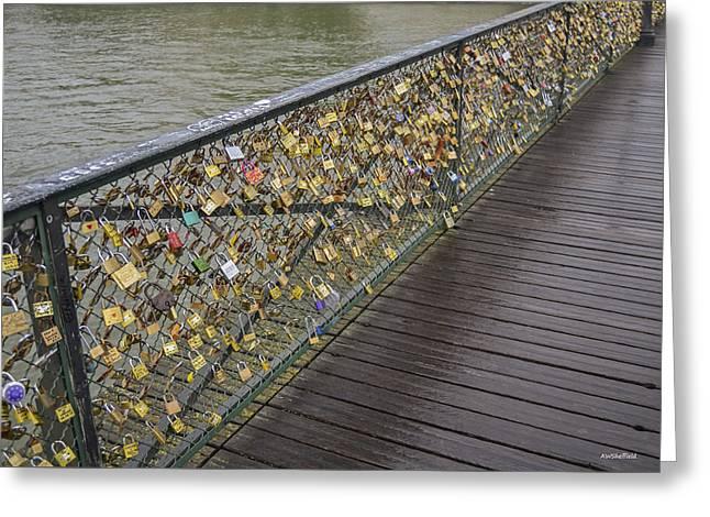 Pont Des Artes Greeting Card
