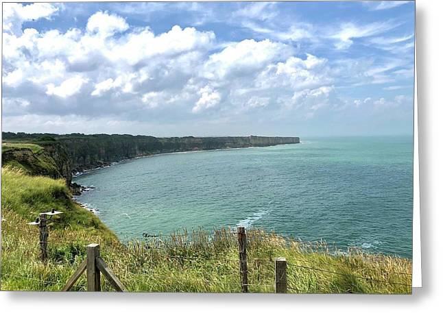 Pointe Du Hoc Greeting Card
