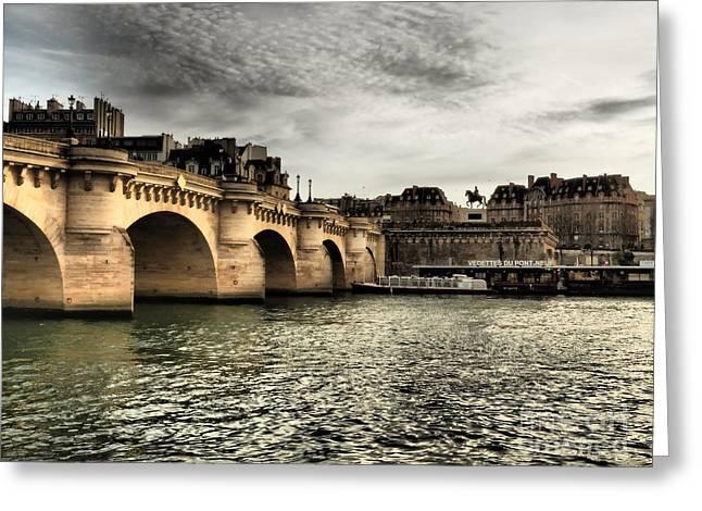 Pont Marie, Paris Greeting Card