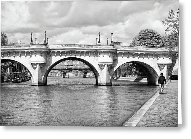 Pont Neuf, Paris Greeting Card