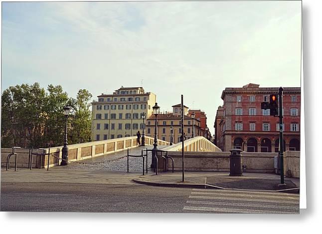 Ponte Sisto Greeting Card by JAMART Photography
