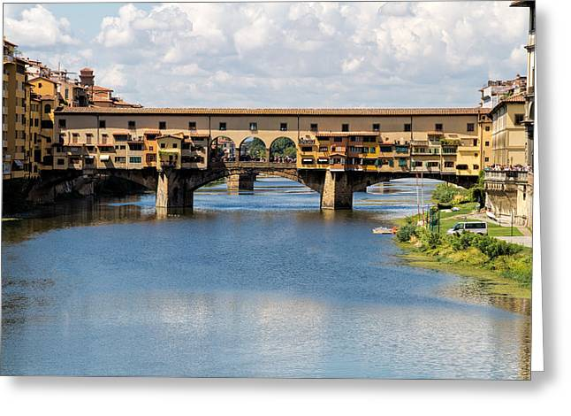 Ponte Vecchio In Florence, Italy Greeting Card