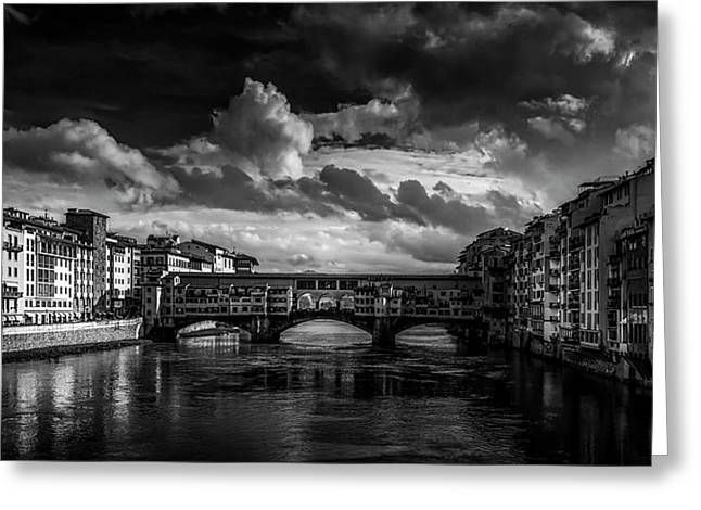 Ponte Vecchio Of Florence Greeting Card