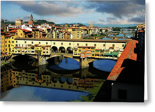 Ponte Vecchio View  Greeting Card
