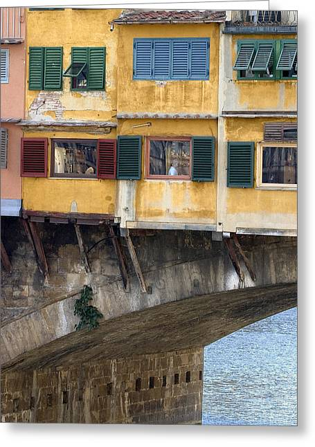 Ponte Veccio 2 Greeting Card