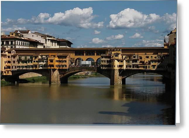 Pontevecchio Florence Greeting Card