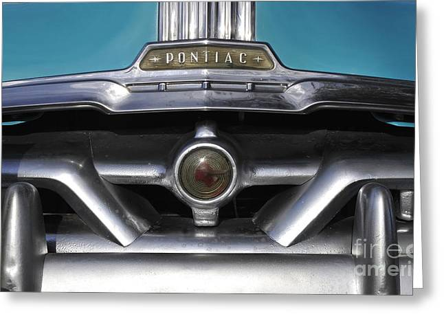Pontiac Grill Greeting Card by David Lee Thompson