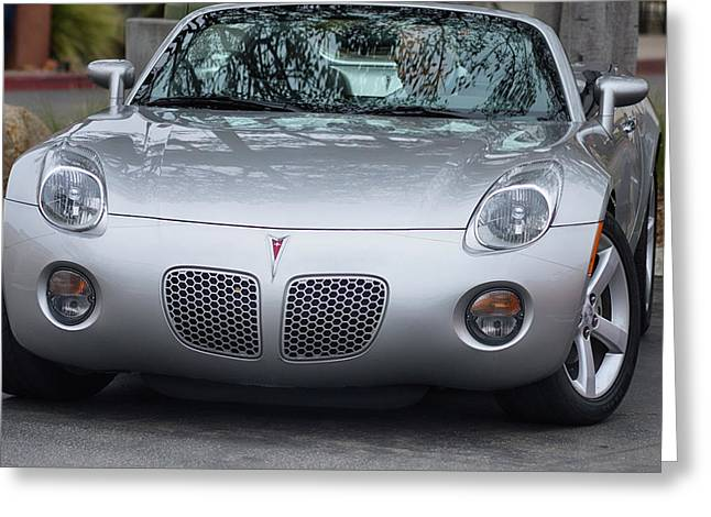 Pontiac Solstice Greeting Card by Bill Dutting