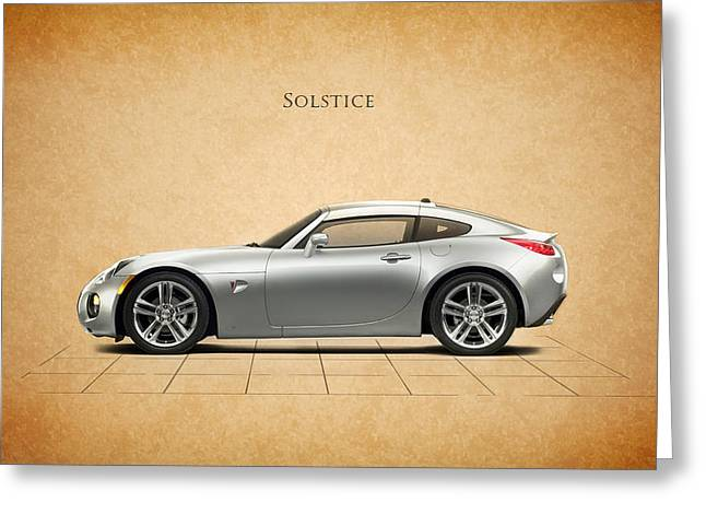Pontiac Solstice Greeting Card