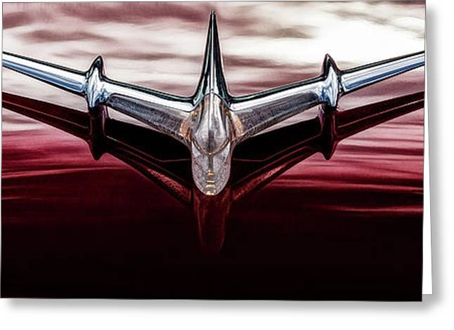 Greeting Card featuring the photograph Pontiac Star Chief by Brad Allen Fine Art