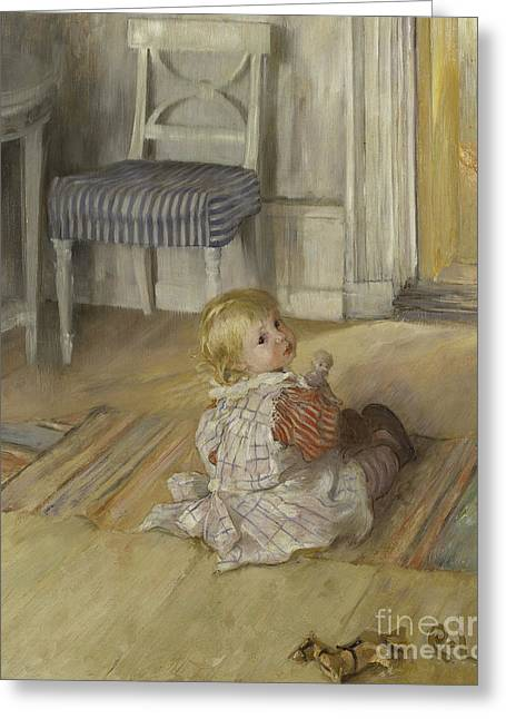 Pontus, 1890 Greeting Card by Carl Larsson