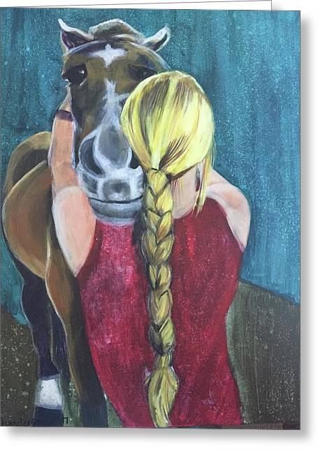 Pony Love Greeting Card