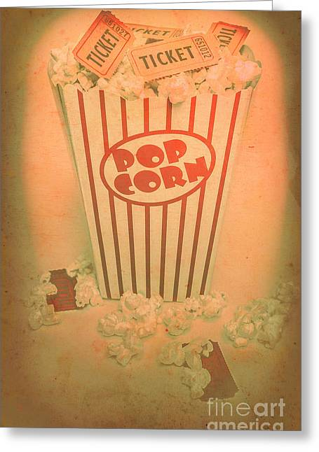 Pop Art Theatre Greeting Card