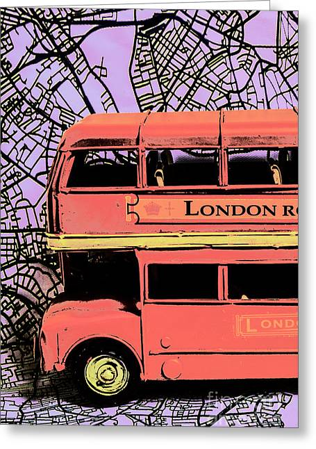 Pop Art Uk Greeting Card