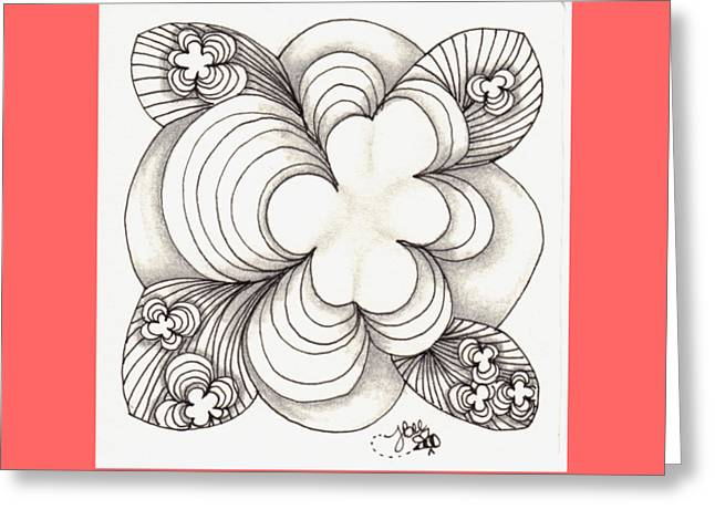 Popcloud Blossom Greeting Card