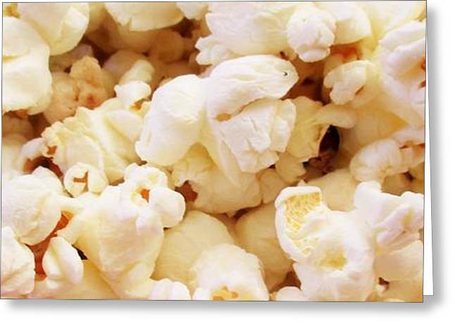 Popcorn 2 Greeting Card by Martin Cline