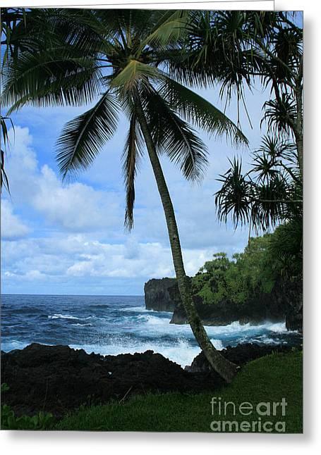 Poponi Ulaino Mokupupu Maui North Shore Hawaii Greeting Card