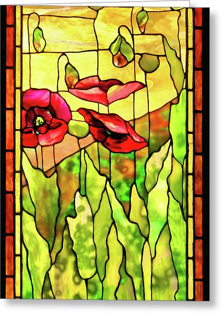 Poppies 2 Greeting Card by Kristin Elmquist