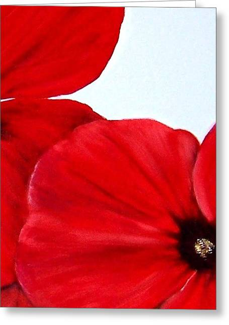 Poppy 2 Greeting Card by Penny Everhart