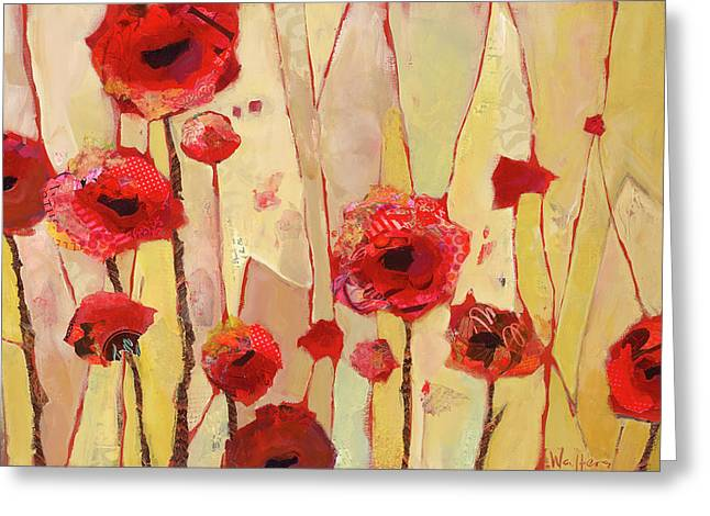 Poppy Crush Greeting Card