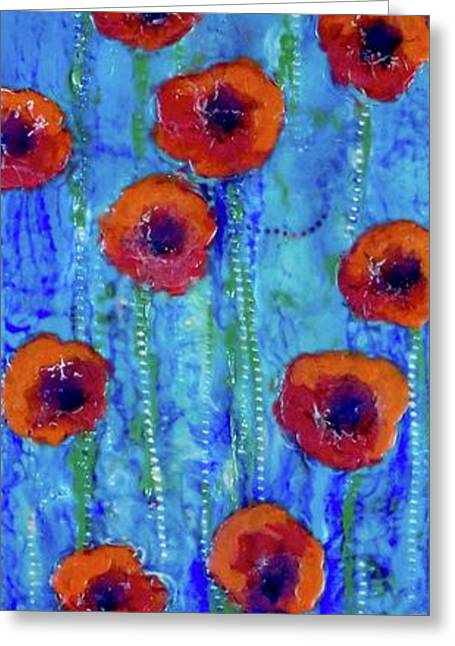 Poppy Dance Greeting Card