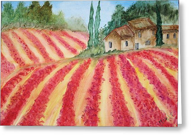 Poppy Fields Greeting Card