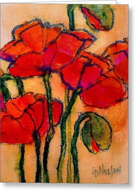 Poppy Sketch Greeting Card