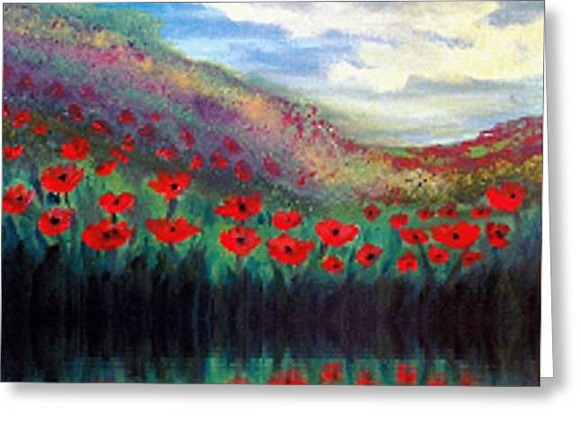 Poppy Wonderland Greeting Card