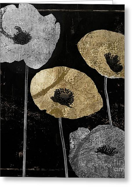 Poppyville Greeting Card by Mindy Sommers