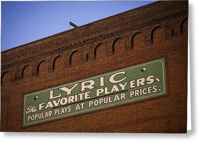 Popular Plays At Popular Prices Greeting Card