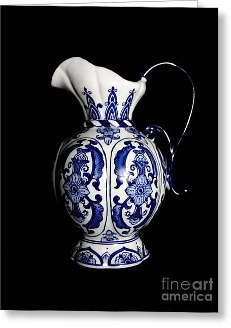 Porcelain 2 Greeting Card by Jose Luis Reyes