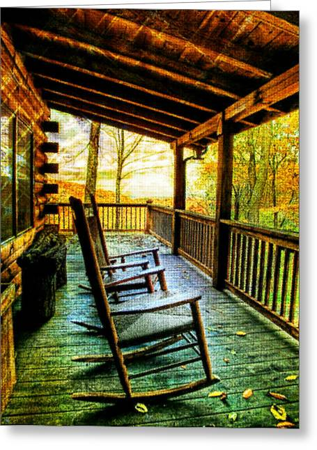 Porch Front Greeting Card