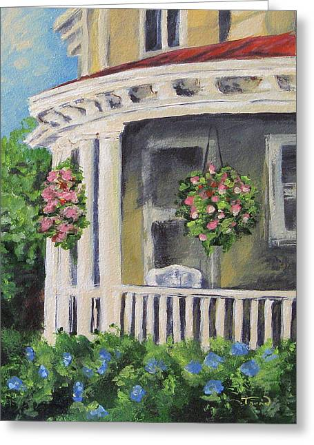 Porch Greeting Card by Torrie Smiley