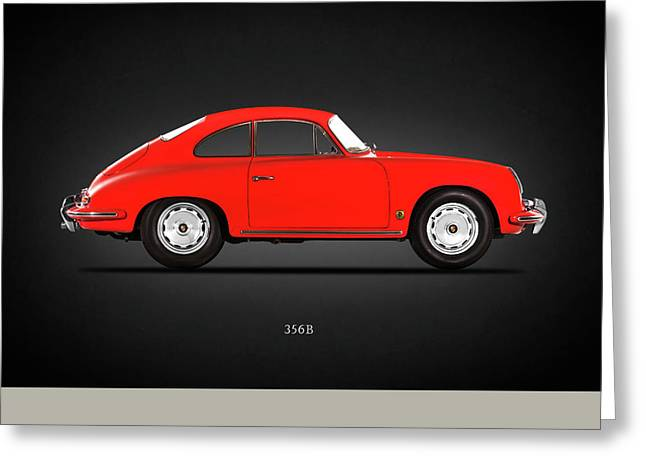Porsche 356 B 1961 Greeting Card