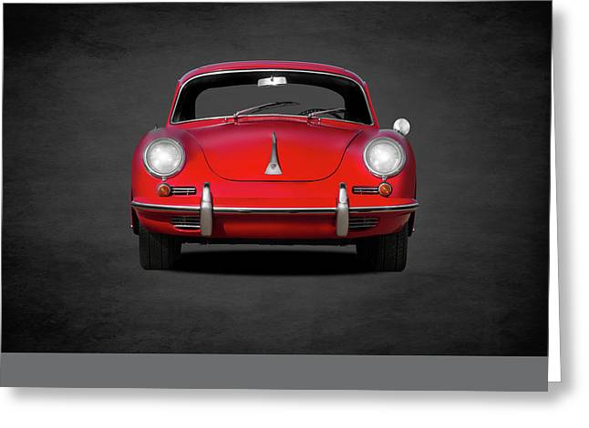 Porsche 356 Greeting Card by Mark Rogan