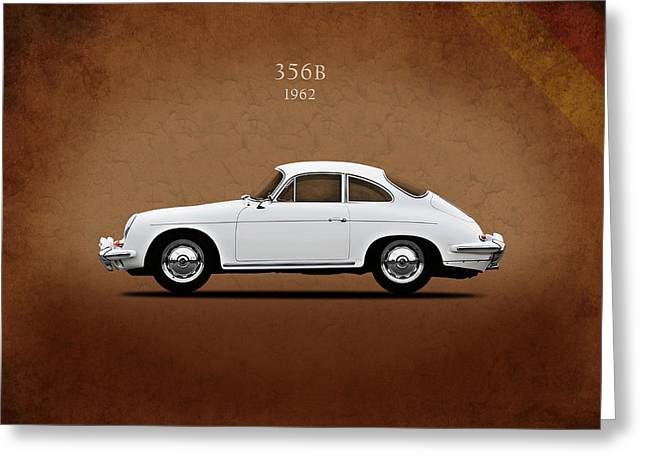 Porsche 356b 1962 Greeting Card