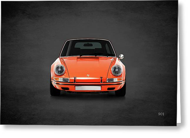 Porsche 901 Greeting Card