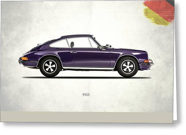 Porsche 911 Greeting Card by Mark Rogan