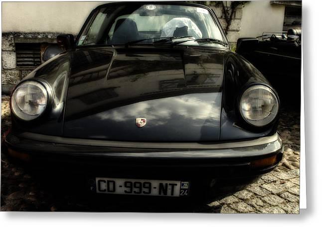 Porsche 911 Sc Targa Greeting Card by Georgia Fowler