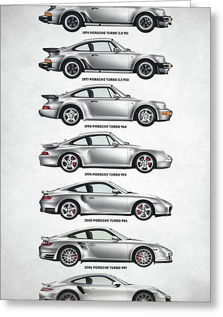 Porsche 911 Turbo Evolution Greeting Card