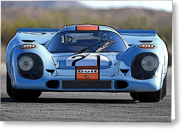 Porsche 917 Shorttail Greeting Card